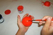 IDEAS Y POSIBILIDADES^^} / Trabajos para hacer en grupo o en individual, combinando posibilidades; adquiriendo habilidad manual y características de los materiales.