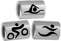 Sporty Jewellery / REWARD YOURSELF with a Stirling Silver Charm or pendant to mark your achievement.  Charms fit Pandora.