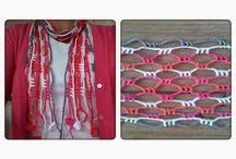 Haken - omslagdoeken/sjaals