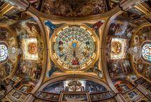 Bâtiments religieux / Eglises, temples, abbayes, prieurés... / by Christiane Cornet