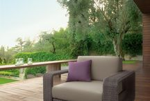Hamptons / Outdoor furniture solutions for the lounge-area, where to have a cocktail or an after-dinner, where to meet friends, to share happy moments, to be casually outdoor.