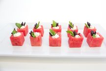 Dishes for Summer Events / Don't know what to serve at your event this summer, here are some ideas for you!