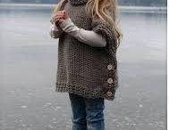 棒針編みのセーター