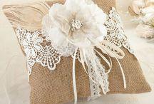 Wedding Bearer Ring Pillows