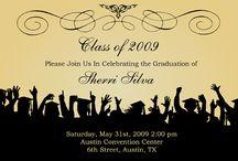 invitacion grad