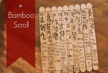 Chinese School Crafts
