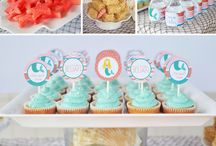 Timberly's little mermaid party