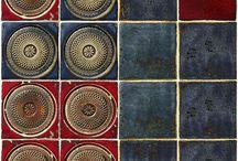 Tiles / Ceramic handmade tiles from Dekor-Kafle.pl studio www.dekor-kafle.pl