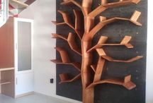 tree bookshelf / tree bookshelf bookcase