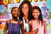 "JK's House (Movie) / (Short Synopsis) ""Blending family values and life lessons with music and dance, JK's House entertains while teaching kids important life lessons about such topics as being thankful, patience, manners, caring, sharing, family focused and much more."" (Starring) Robin Givens (TV's Head of the Class, Chuck, & Tyler Perry's House of Payne, Boomerang), 'JK' Jakayla Lawerence, Danielle LaRoach, and Cymia Telleria (Cash Money Records). / by Green Apple Entertainment"