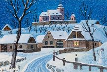 Josef Lada- my favourite artist