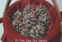 Podpaľovač na oheň