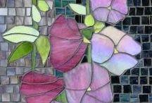 Mosaic wall hanging
