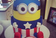 Gâteau thème Minion / Minion Cake