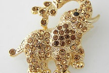 Jewelery Elephant / Fil / Elefanten / Please Like and Pin ! Thank you