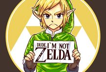 Link is not the same person as Zelda!