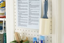 Organizing & cleaning / by Tracey Heins VanHuylenbrouck