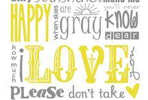 Lyrics I Love / by Natalie Rubino