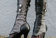 Boot and shoe fashion / Fashion of boots and shoes