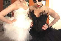 Black Swan / White Swan Costume / Stay in touch on Facebook! https://www.facebook.com/maskerix/