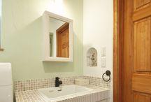 洗面 / かわいい家photoに掲載された洗面の写真