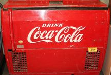 Soda Fountain - Coke & Pepsi / by Pot of Gold Auctions