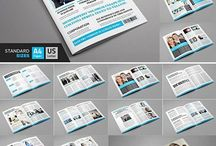 Magazine Design Template Pack