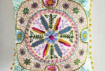 народные орнаменты на ткани