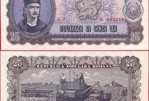 bancnote & monede românești