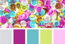 colour palette presentation