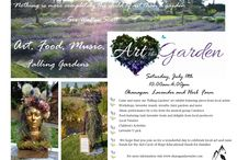 Art in the Garden 2015 / An annual vintage garden gathering celebrating art, music and food at Okanagan Lavender and Herb Farm