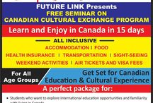 Cultural Exchange Program / Apply for CULTURAL EXCHANGE PROGRAM  Students -  Students who want to explore international education opportunities and familiarity with living in Canada.  Working Professionals -  Working Professionals interested in migrating to Canada and who want to know more about their Career prospects in Canada.  Parents -  They can plan a reunion with their beloved children.  Spouse/relatives -  They can socialize with their dear ones.