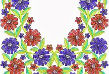 Kurta necklines / by Daniela Swider