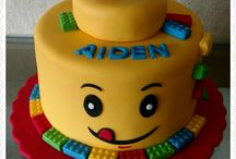 Lego birthday cake. / Birthday cake ideas for a child, Lego themed.