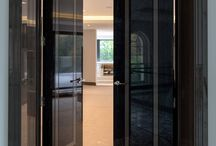 High Gloss in Redona Road / A fantastic new project in St Georges hill. This is a bespoke door, a truly unique design.