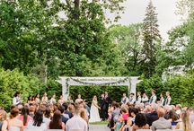 the wedding  LOUNSBURY HOUSE / Venue: Lounsbury House   Event Planning: Creative Concepts by Lisa, LLC   Gown: Watters from RK Bridal   Flowers: Willow & Wine