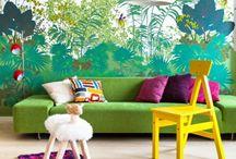 Jungle Kids Wallpaper – Children's Room Design