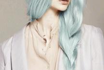 coloured hair