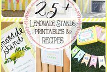Lemonade Stands Inspiration