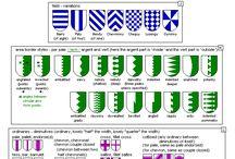 Mittelalter  Wappen sticken