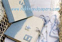 h&p _ blue inspirations / Idee, inviti, decorazioni, album in sfumature azzurro baby!