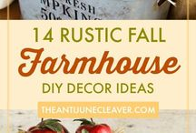 Time of Year: Fall Favorites