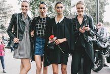 Street Styles - girl gang