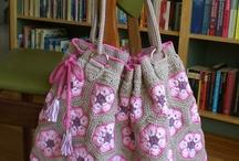 tassen / Bags / crocheted bags