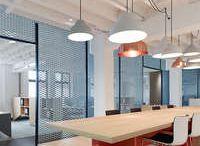 mesh / perforated metal panels / interior