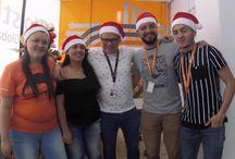 HostDime en Navidad / La Navidad llega con todo su amor hasta nuestras instalaciones. HostDime es Familia.