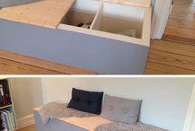 Homemade sofa
