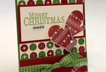 Chock-Full of Cheer-Retired / Made with Stampin' Up! Chock-Full of Cheer stamp set.