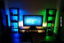 Gaming setup/room ideas