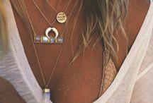 JEWELS / Bijoux, bijoux bohème, boho jewels